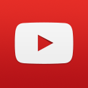 YouTube social square red 128px